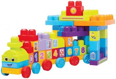 Xếp hình tàu hỏa học số Mega Bloks DBL08