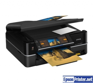 How to reset Epson PX800FW printer