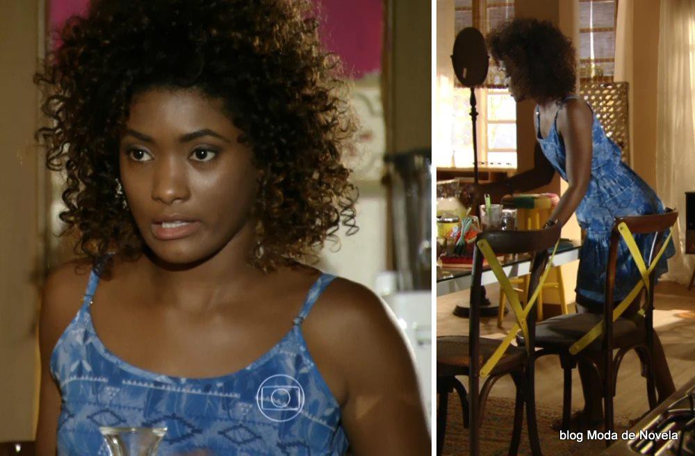 moda da novela Em Família - look da Alice dia 27 de maio