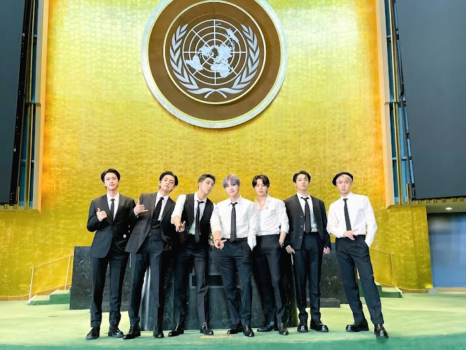 """Watch BTS Give Speech and Perform """"Permission"""" to Dance for the 76th UN General Assembly"""
