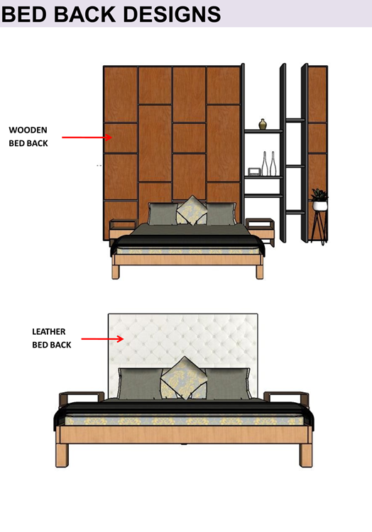 BED BACK DESIGNS