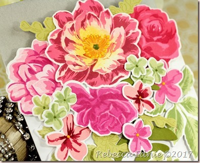 big rose bouquet cut out card2