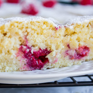"Raspberry ""Buttermilk"" Cake (And It's A…)"