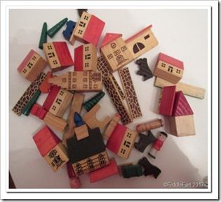 Wooden brick village toy_thumb[5]