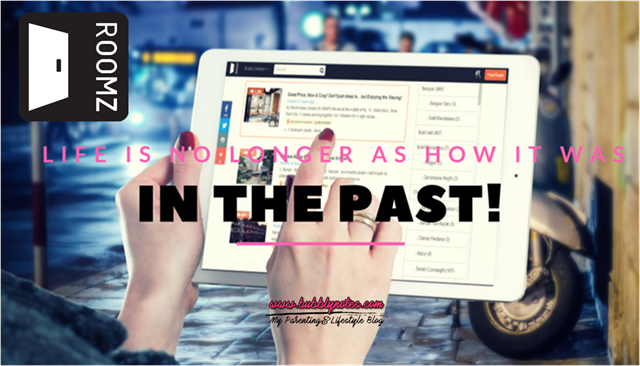 LIFE IS NO LONGER AS HOW IT WAS IN THE PAST!