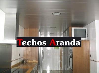 Precio economico montadores techos desmontables Madrid