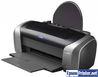 How to reset Epson C86 printer