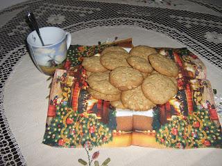 recepti, Keksići sa ovsenim pahuljicama, keks, ovsene pahuljice