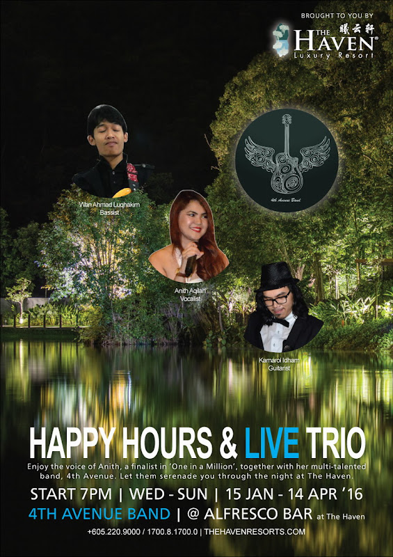 Happy Hour at The Haven with 4th Avenue Band