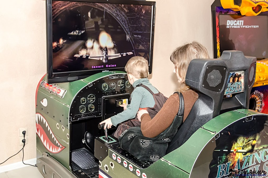 Интерактивные игровые автоматы.