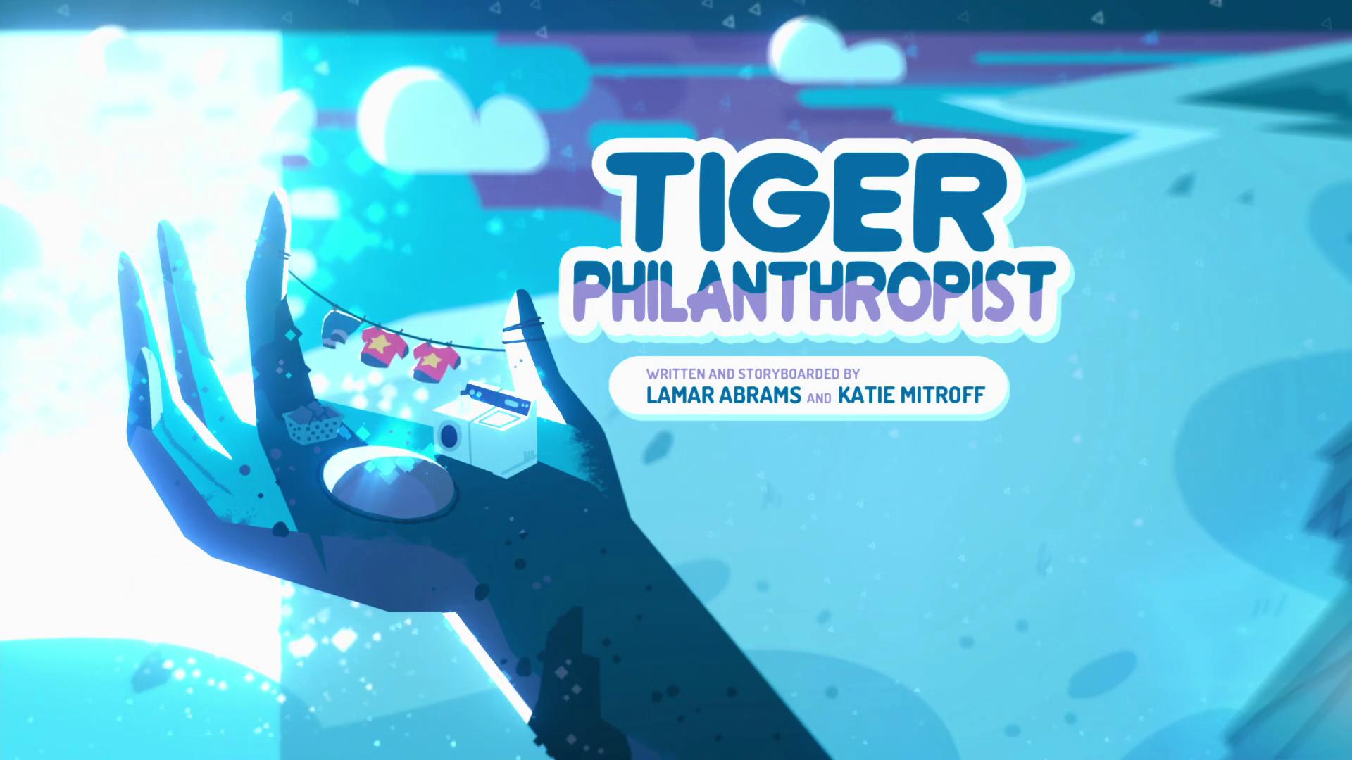 Steven Universo - Tigre Filantropo