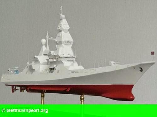 Hình 1: Nga công bố thiết kế siêu tàu khu trục mới mang theo hơn 200 tên lửa