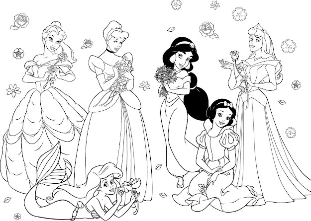 Coloring Pages Kids Coloring Pages Disney Princess Wonderful Kids Color  Page Kids Creativities  Alicas Drawing The