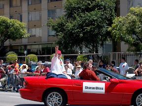 Sharon Gless, Celebrity Grand Marshal
