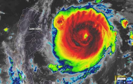 Ο τυφώνας Chantu έφτασε σε μόλις 48 ώρες στην κατηγορία 5 - Κόκκινος συναγερμός για Φιλιππίνες και Ταϊβάν