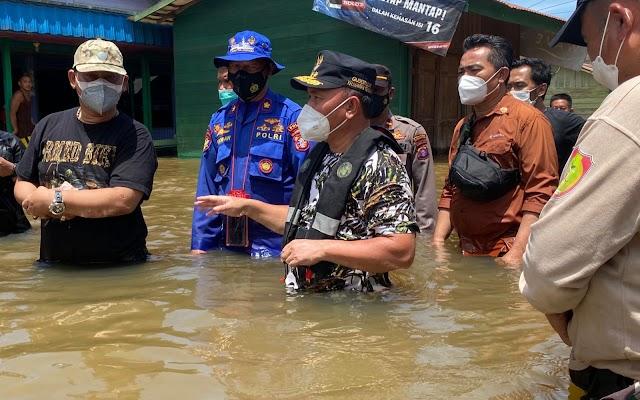 Penanganan Jalan Rusak Pasca Banjir, Gubernur Kalteng: Segera Ditangani