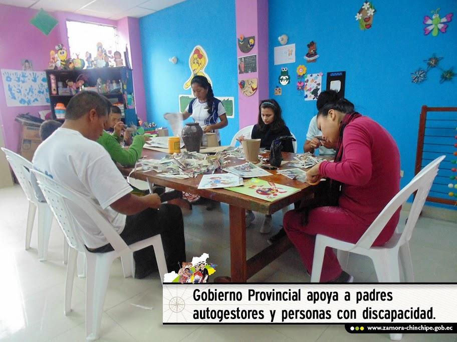 GOBIERNO PROVINCIAL APOYA A LA ASOCIACIÓN DE PADRES AUTOGESTORES Y PERSONAS CON DISCAPACIDAD.