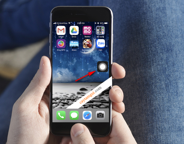 Hướng dẫn tạo nút Home ảo trên màn hình iPhone