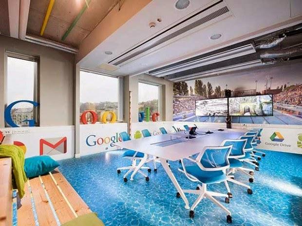 Las oficinas de Google en Hungría inspiradas en un SPA