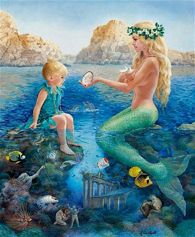 Child Dream Mermaid, Undines