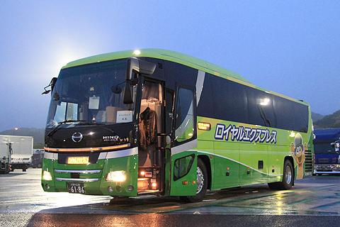 富士観光バス「ロイヤルエクスプレス」東京便 浜名湖SAにて その2