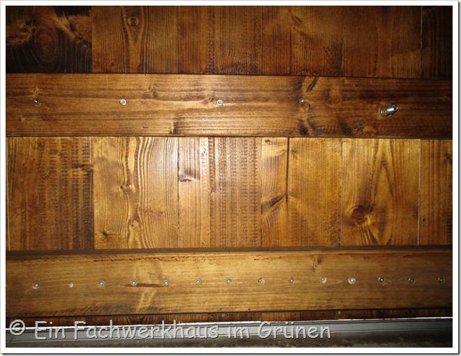 Holztor selbst bauen
