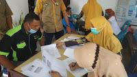 Pengawai Dan Karyawan PLN ULP Gandapura Suntik Vaksin