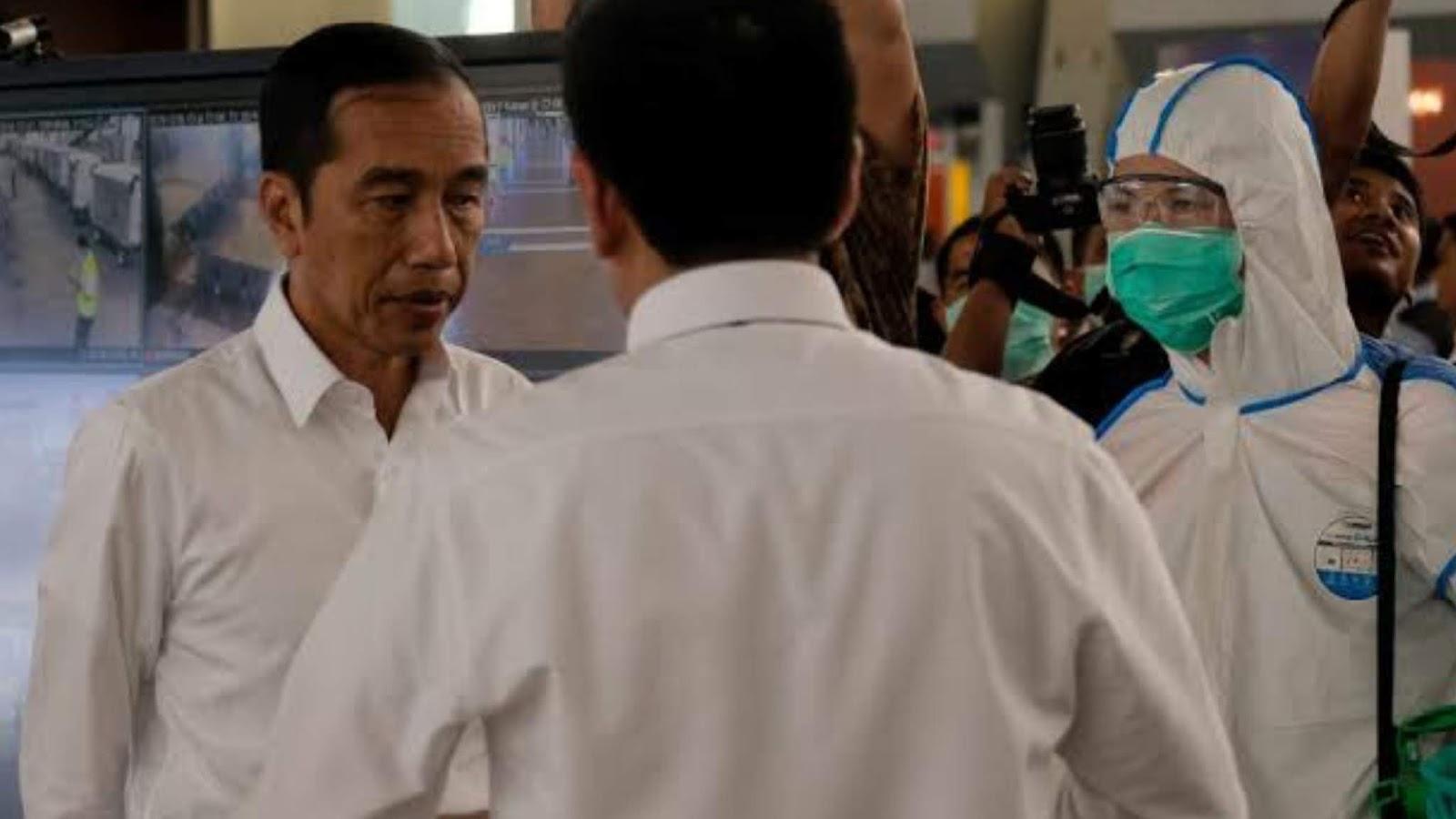 Menhub Positif Corona, Jokowi dan Para Menteri Lakukan Tes Kesehatan di RSPAD