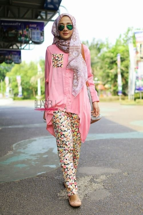 Summer Street Style Fashion With Hijab 2016 Styles 7