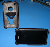 Another shot of the iPhone case prototypes.