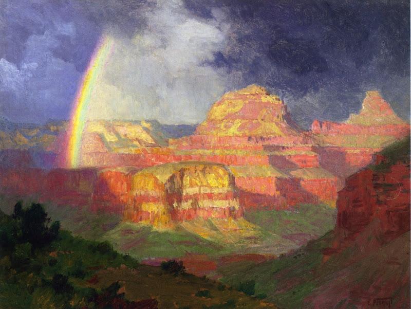 Edward Henry Potthast - The Grand Canyon