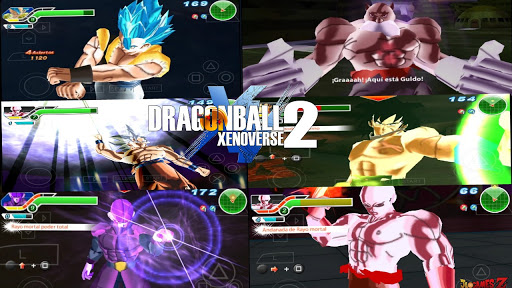SAIU NEW DRAGON BALL (MOD) TENKAICHI TAG TEAM MENU PERMANENTE STYLE XENOVERSE 2 PARA ANDROID PPSSPP