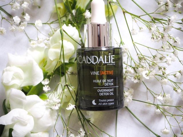 Kết quả hình ảnh cho Caudalie Vine Activ Overnight Detox Night Oil