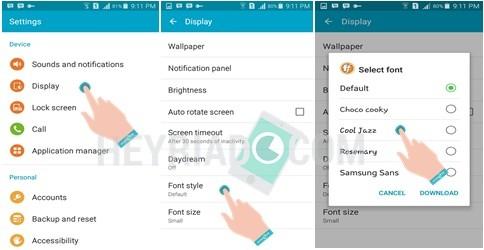 dengan tampilan yang berbeda masih dirasa cukup sulit oleh sebagian pengguna gres smartph 2 Cara Mengganti Font (Gaya Huruf) Android Tanpa Root
