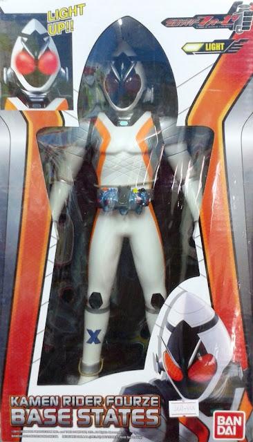 Mô hình Siêu nhân Kamen Rider Fourze Base States được làm từ nhựa Vinyl an toàn