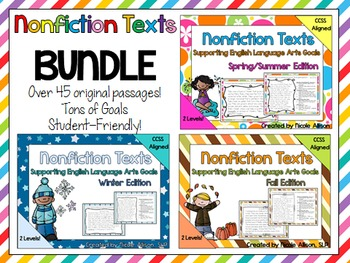 Nonfiction Texts Bundle Image