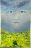 Matka Ziemi, olej, płótno, szpachla, 50/70 cm