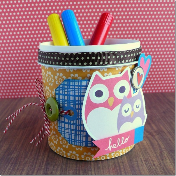 Anna Draicchio - Craft Asylum - school - pencil jar (2)