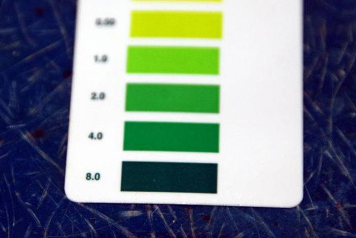 bảng đo PH