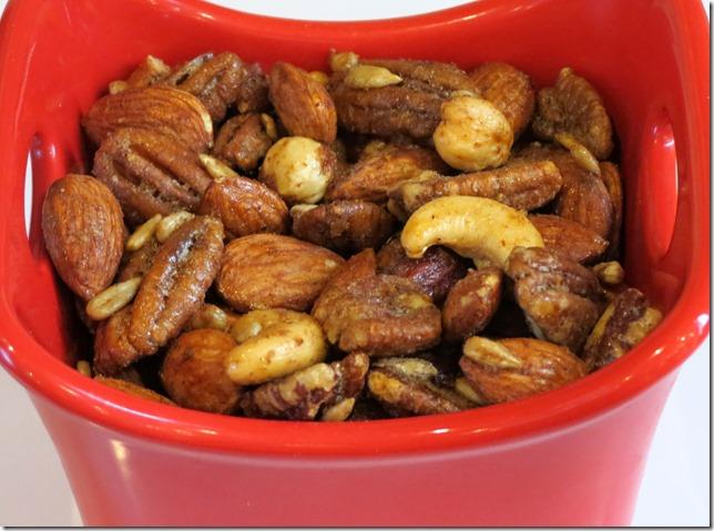 Paleo Spiced Mixed Nuts