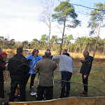 026-Nieuwjaarswandeling met de Bevers.Menno gidst ons door het mooie natuurgebied De Regte Heide te Go+»rle