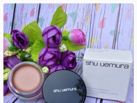 [Review] Shu Uemura Cream Eye Shadow in P Brown