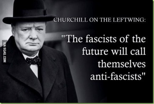 churchill quote fascists
