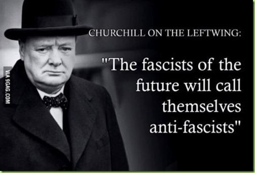 churchill quote fascists