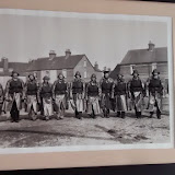 A framed print of one of Poole's former crews, hanging on the wall in the crew room.  19 January 2015