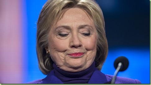 hillary wrinkles