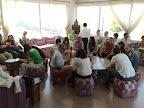Reunión de alumnos en el Parador