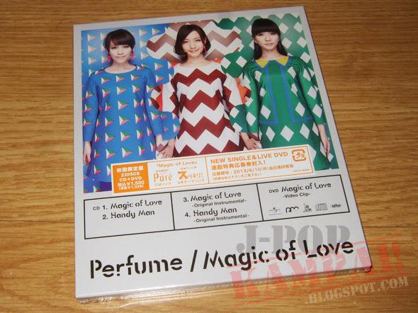 [CD Packaging] Perfume - Magic of Love (CD+DVD)