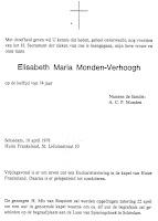Monden-Verhoogh, Elisabeth Rouwkaart.jpg