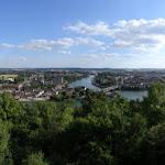 Panorama sur la ville de Montereau-Fault-Yonne